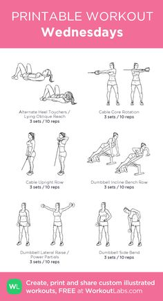 Beginners WorkOut From Office Planet Fitness Workout Plan, Gym Workout Plan For Women, Gym Workouts Women, At Home Workouts, Trx, Plyometrics, Gym Plans, Exercise Plans, Wednesday Workout