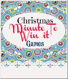Lou  Lou  Girls : Christmas Minute to Win it Games