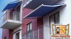 Tende da Sole a Bracci con Piastre Separate modello New Fly Terrazzo, Mansions, House Styles, Outdoor Decor, Home Decor, Decoration Home, Manor Houses, Room Decor, Villas