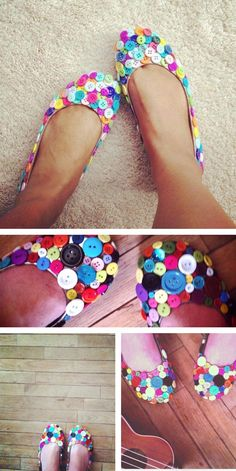 Restyle shoes from #goodwill for the perfect work flats
