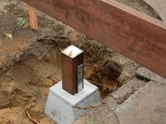 Learn what's the best type of concrete deck blocks from the experts at DIY Network.