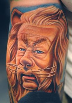 Cowardly lion by Nikko Hurtado