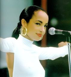 Famous backless shirt. Love. >>Sade