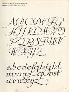 vintage script alphabet ~ Script Lettering M. Meijer ~ script text with flourishes, particularly in capitals Script Alphabet, Calligraphy Fonts Alphabet, Tattoo Lettering Fonts, Hand Lettering Alphabet, Handwriting Fonts, Typography Letters, Penmanship, Caligraphy, Letter Fonts