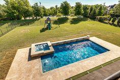 Sport Pool, Travertine Pavers, Pool Companies, Pool Chlorine, Soaking Wet, Pool Builders, Pool Designs, Great Places, Backyard