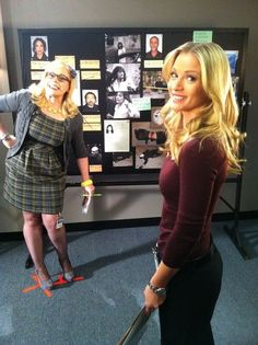 Criminal Minds, Behind The Scenes (courtesy Kirsten Vangsness)