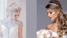 Lace Wedding, Wedding Dresses, One Shoulder Wedding Dress, Hairstyle, Women, Fashion, Bride Dresses, Hair Job, Moda