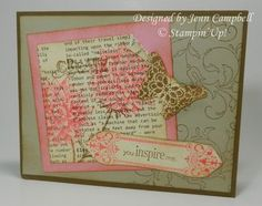 like the idea of stamping on printed page.