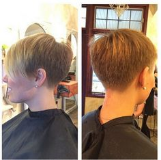 In all women try different short hair cuts and styles, because long hairdos out of fashion now. We have been here most attractive short hair ideas in this Short Choppy Haircuts gallery. Really Short Hair, Short Straight Hair, Short Hair Cuts, Pixie Cuts, Chopped Haircut, Bob Hairstyles, Straight Hairstyles, Medium Hair Styles, Short Hair Styles