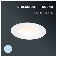 Signature Stream glow in a round for commercial or residential applications. Linear Lighting, Accent Lighting, Lighting Design, Natural Shapes, Simple Shapes, Linear System, Donut Shape, Extruded Aluminum, Graphic Patterns
