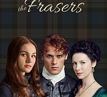 The Frasers-Jamie, Claire & Brianna by Sassenach616