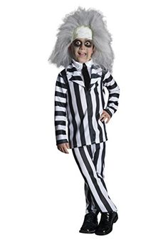 Rubies Costume Co. Inc boys Deluxe Child Beetlejuice Costume Toddler @ niftywarehouse.com