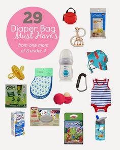 29 Diaper Bag Must-Haves