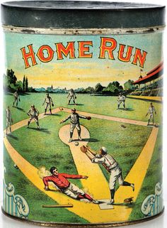 Home Run - Vintage Tin