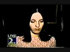 Sadie Mae Glutz AKA Susan Atkins: Charles Manson Family 1970 Helter Skelter trials Raw Footage
