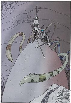 orano: Moebius - Montrouge Mystery  2001  Illustration 9  Stardom Editions