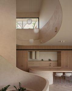 Villa Design, House Design, Interior Architecture, Interior And Exterior, Australian Architecture, Interior Decorating, Interior Design, Decorating Tips, Minimal Decor