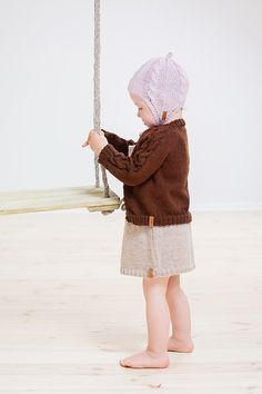 SALE 40% OFF Brown baby Sweater / Knit baby ar toddler cardigan / Children alpaca sweater / Cardigan for toddler / kids / Children sweater
