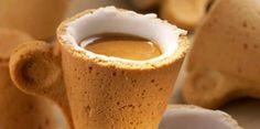 ITALIAN COFFEE BRAND INTRODUCES EDIBLE COFFEE CUP