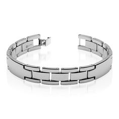MSRP: $179.99  Our Price: $99.99  Savings: $80.00    Item Number: SB3254  Availability: Usually Ships in 5 Business Days    PRODUCT DESCRIPTION:    Accessorize your wardrobe with this gentlemen''s bracelet made of pure tungsten carbide, created for aerospace vehicles and now crafted by artisans into a fashion statement for todays freethinking man. This sleek bracelet features watch style links in a stylish pattern. Completely scratch-resistant and hypoallergenic, this finely crafted piece…