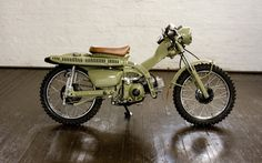 Trail Honda CT110 Super Hunter - custom makeover for knobbier, gnarlier trails - by Pipeburn.