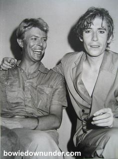 David Bowie & Richard Butler