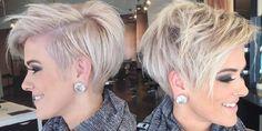 Keuzes keuzes keuzes….. Ben jij die enorme twijfelaar en weet jij af en toe ook echt niet meer wat je nou met jouw haar aan moet? Laten wij jou dan op weg helpen bij dit lastige dilemma! Bekijk eens deze 10 diverse blonde en grijs gekleurde kapsels, geknipt in diverse modellen.