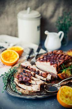 bacon baked with oranges by Pieprz czy Wanilia
