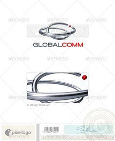 Communications Logo - 3D-677