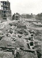 Rathausplatz: Archäologie im kriegszerstörten Köln