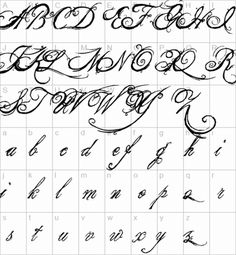 The King  Queen Font Character Map Alphabets Letters Download