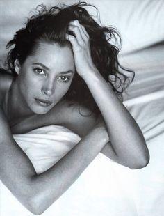 Christy Turlington by Sante D'Orazio for Vogue Italia September 1993