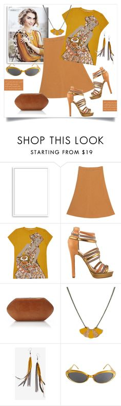 """Spicy Mustard Style"" by metter1 ❤ liked on Polyvore featuring Bomedo, BA&SH, Ginger Mary, Nicole Miller, Hunting Season, Atelier Maï Martin, Serefina, Bill Blass and uisforurobilin"