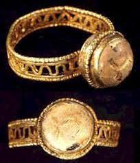 .Anillo Romano de Oro - Siglo III-IV A.D.