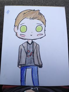 "Dean Winchester from ""supernatural"""