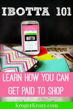 How Does ibotta Work? ibotta is a free smart phone app that lets you earn real money for items you purchase at many store nationwide, including Kroger! As of right now, there is no policy against stacking paper coupons to really maximize your savings!  #Kroger