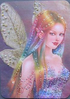 Fae the Rainbow Fairy Fairy Dust, Fairy Land, Fairy Tales, Magical Creatures, Fantasy Creatures, Rainbow Fairies, Kobold, Fairy Pictures, Love Fairy