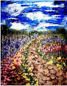 "Impressionism painting, Van Gogh like, art painting, ""Dream"""