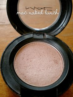 MAC Naked Lunch...can't go a day without this!  This is a permanent fixture in my makeup kit.