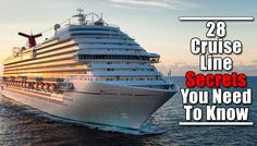28 Cruise Line Secrets revealed! These tips will surely make your next Cruise Line adventure worth it up to the last penny!