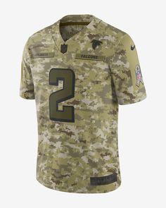 NFL Atlanta Falcons Salute to Service Limited Jersey (Matt Ryan) Men s  Football Jersey Rams a2a99f497