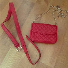 I just discovered this while shopping on Poshmark: Ruby Red • Rebecca Minkoff Affair Fanny Bag •. Check it out!  Size: OS, listed by jkrause012