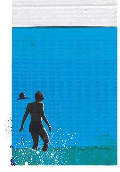 Brighton Swim illustration