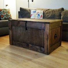 Barnwood, Trunks, Chests, Steamer Trunk, Trunk Coffee Table, Storage Trunk, Wooden Trunk, Trunk by