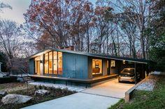 Перепланировка дома в Северной Каролине, США, осуществляемые на месте студии
