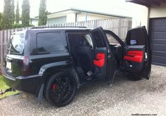 Modified Jeep Patriot Black Color