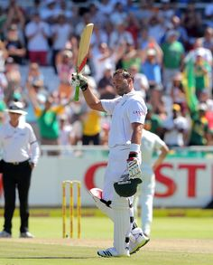 Jacques Kallis (SA) became the 4th to 13,000 Test runs, vs New Zealand, 1st Test, Cape Town, day 1, 1-2-2013