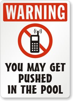 A good pool rule! Keep Your iPad dry at the Pool - try a suction-mount, waterproof Splashtablet iPad Case.  Free Shipping! Under $40. On Amazon. Great Reviews Backyard Signs, Outdoor Signs, Swimming Pool Signs, Swimming Pools, New Patio Ideas, Backyard Ideas, Pool Quotes, Family Pool, Pool Service