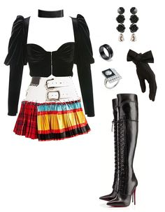 Boujee Outfits, Kpop Fashion Outfits, Stage Outfits, Korean Outfits, Cute Casual Outfits, Polyvore Outfits, Ivy Fashion, Cute Fashion, Star Fashion