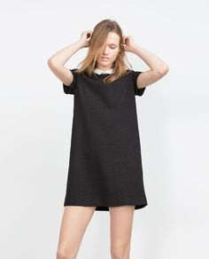 MICRO POLKA DOT DRESS